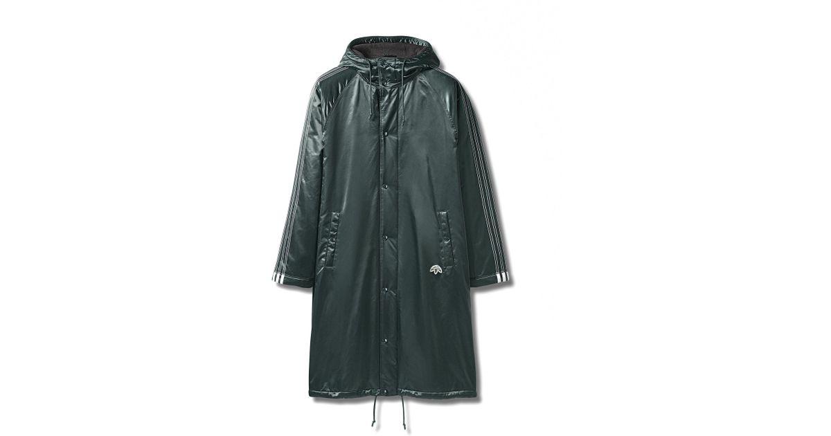 50835a5dbab3 Lyst - Alexander Wang Adidas Originals By Aw Stadium Jacket in Green