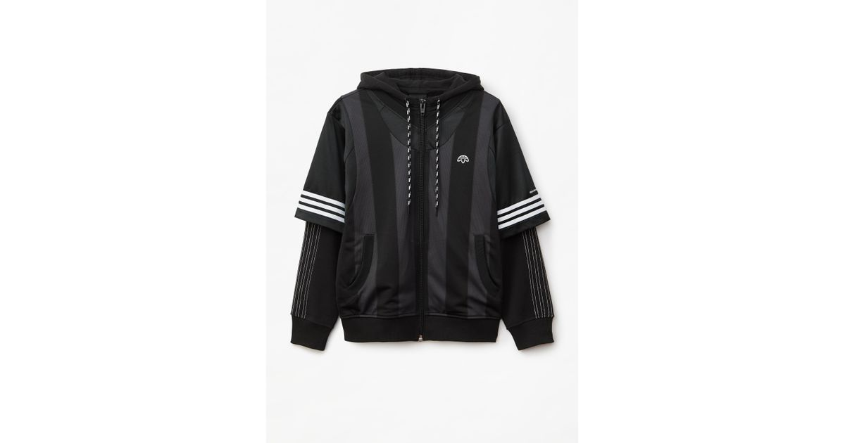 520f0ce6fdc Alexander Wang Adidas Originals By Aw Wangbody Hoodie in Black for Men -  Lyst