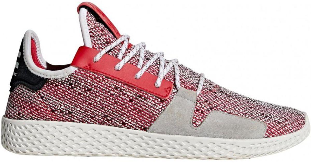 online store 12262 32281 ... huge discount Adidas Originals Afro Tennis Hu V2 in Pink for Men - Lyst  c8851 fb69b ...