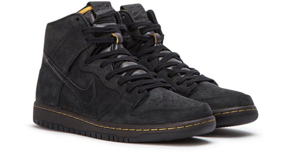 finest selection 11c0c c9a4b Nike Zoom Dunk High Pro Deconstructed Premium in Black for Men - Lyst