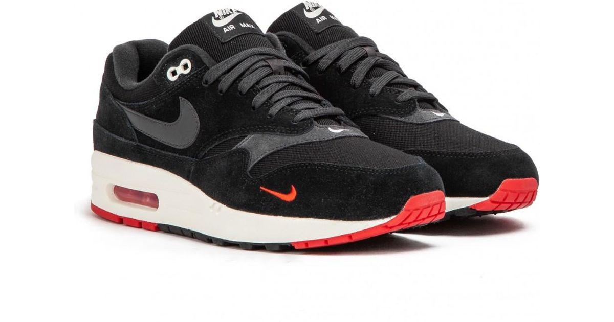 premium selection 923b2 b8a70 Nike Nike Air Max 1 Premium   mini Swoosh Pack   in Black for Men - Lyst
