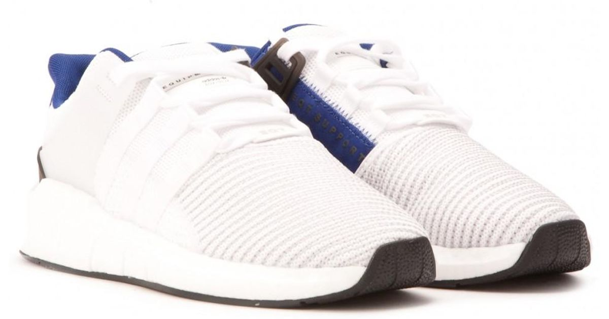on sale 59cb7 7775a adidas Eqt Support Boost 9317 in White for Men - Lyst