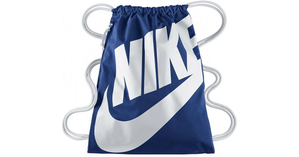 1ba2070f2923f Lyst - Nike Nike Heritage Gym Bag in Blue for Men
