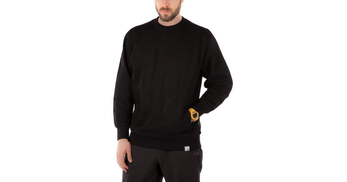 Xbyo Originals Lyst Crewneck For Adidas In Gray Men 8Oq55aw