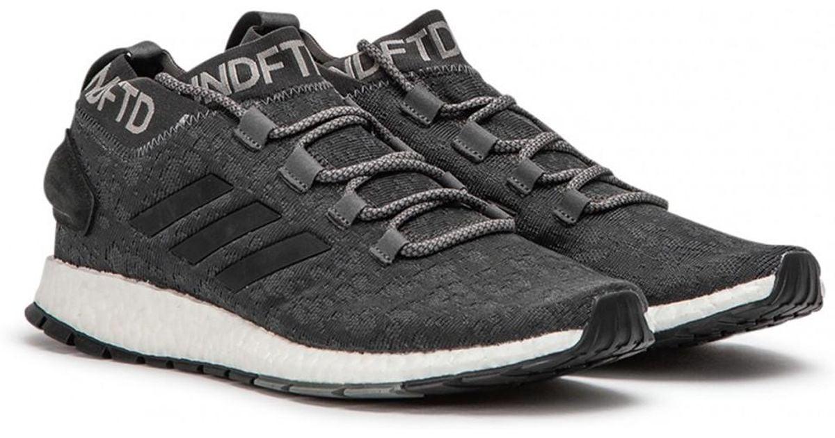 1fe034c9f Lyst - adidas X Undftd Pureboost Rbl in Black for Men