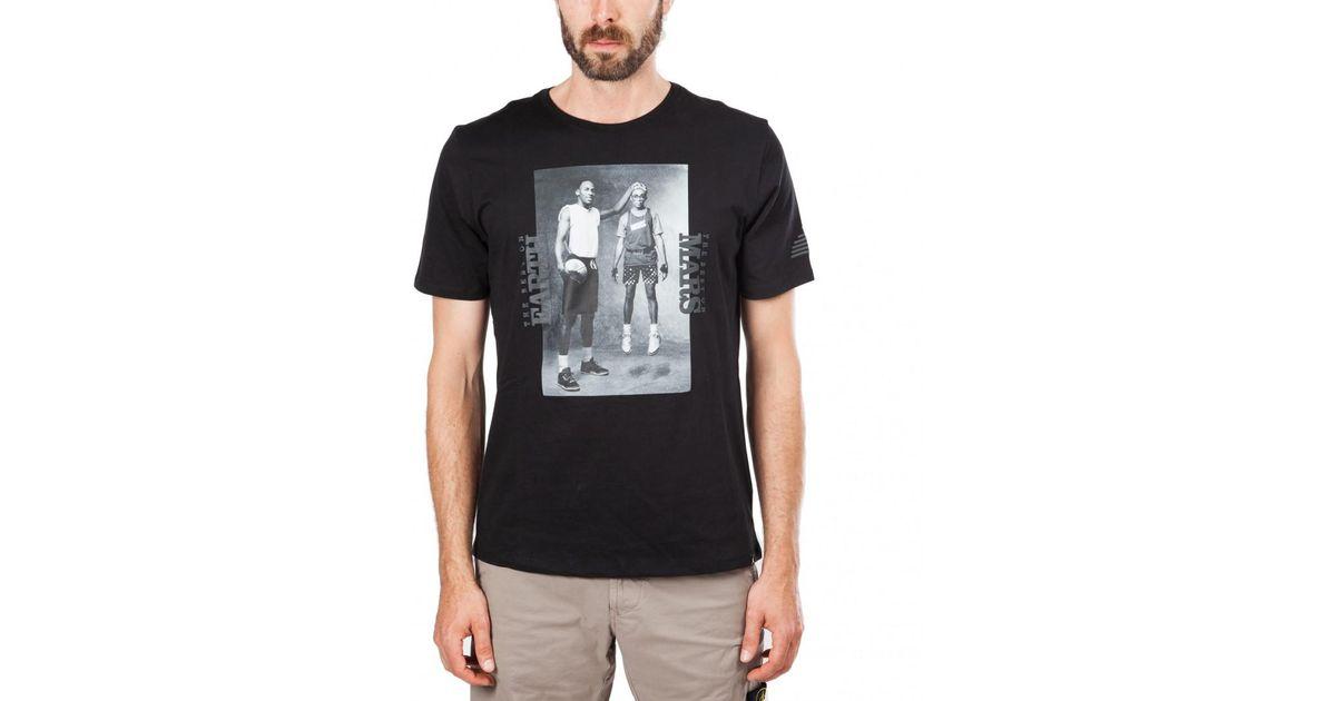 pretty nice 04fba 5de7b Nike Nike Air Jordan Mars Blackmon Photo T-shirt in Black for Men - Lyst