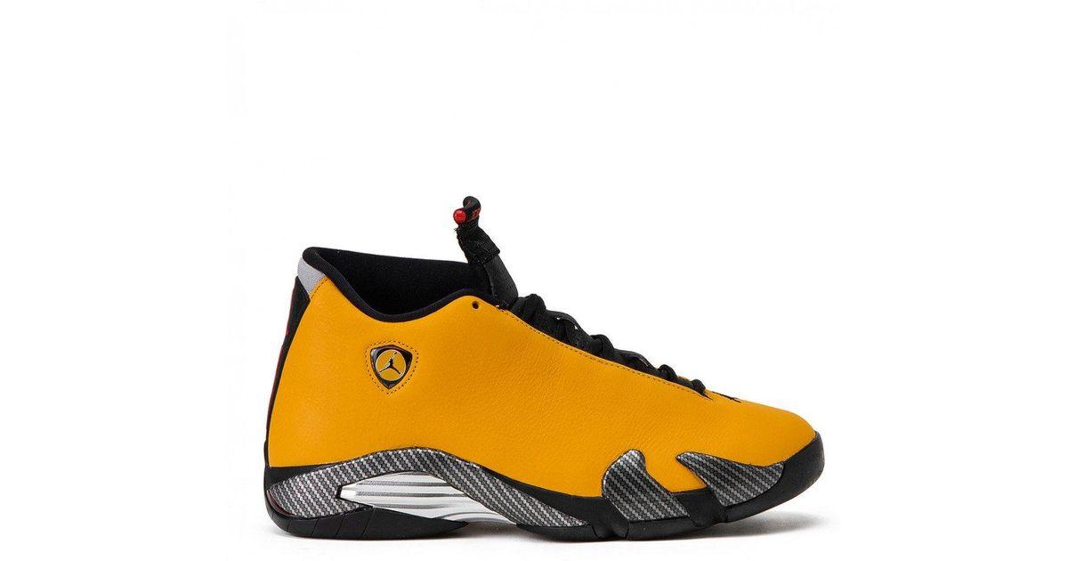 new products c8ca9 20501 Nike - Yellow Nike Air Jordan 14 Retro Se