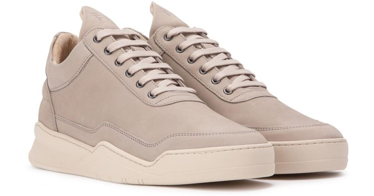 a5ca97fc1 Filling Pieces Low Top Ghost Lane in Gray for Men - Lyst
