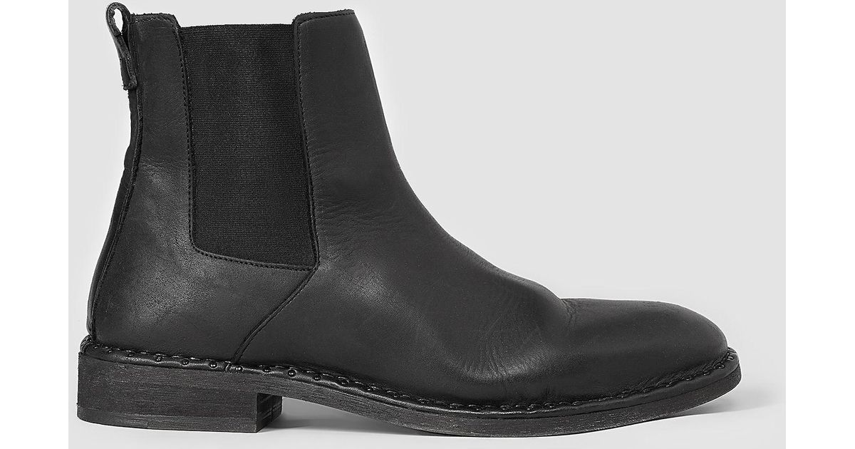 Allsaints Trist Chelsea Boot In Black For Men Lyst