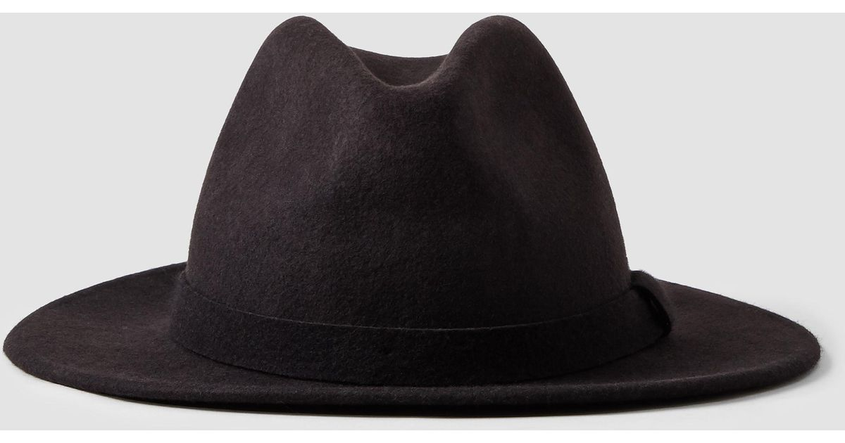 d508b6e36 AllSaints - Purple Bronson Fedora Hat for Men - Lyst