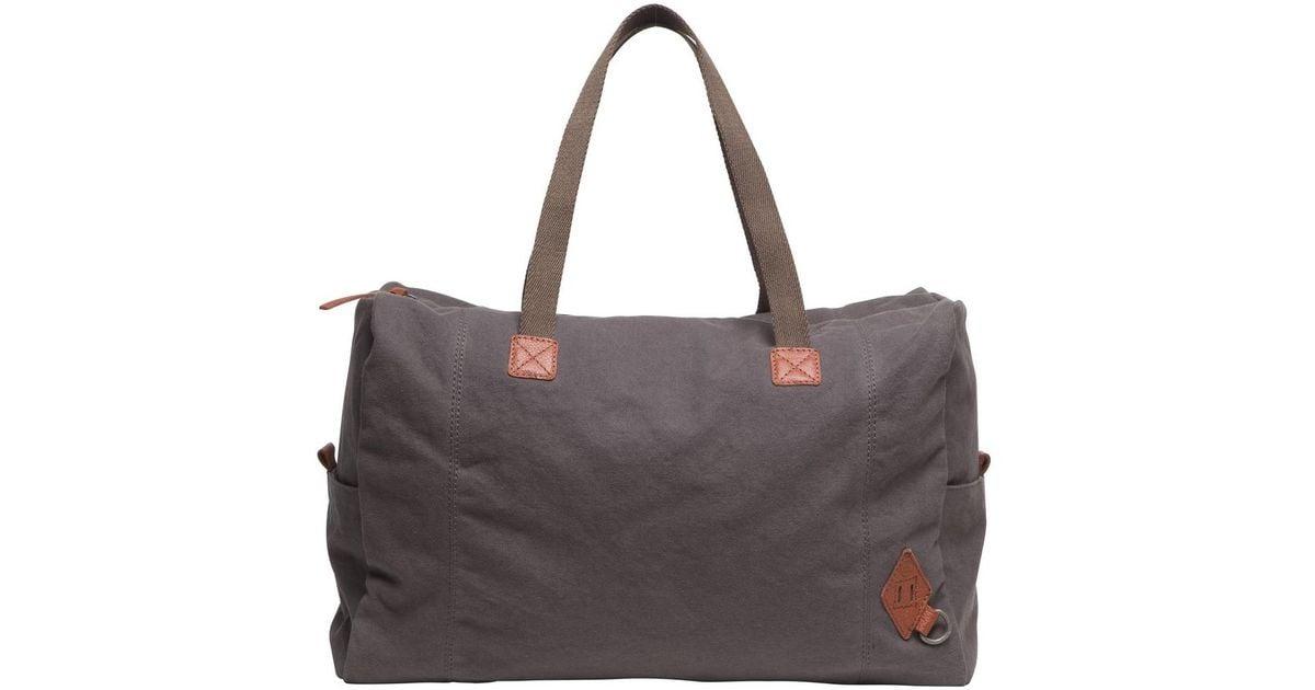 8a368368732e Lyst - Alternative Apparel Premium Weekender Tote Bag in Gray