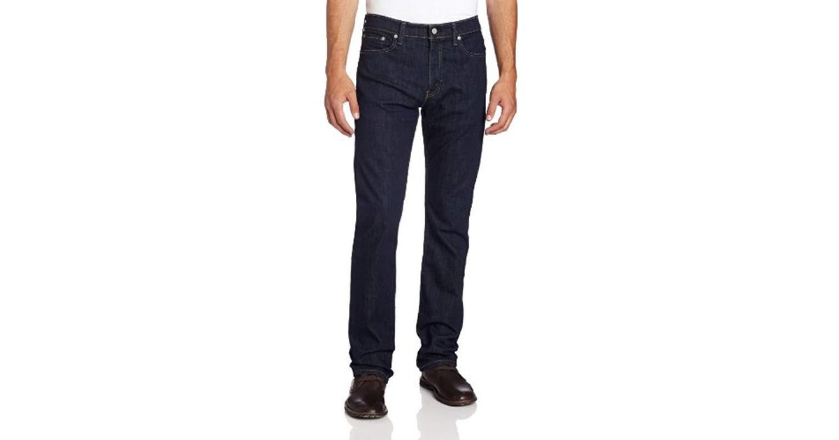 ba634286d19 Levi's 513 Slim Straight Fit - Bastion in Blue for Men - Lyst