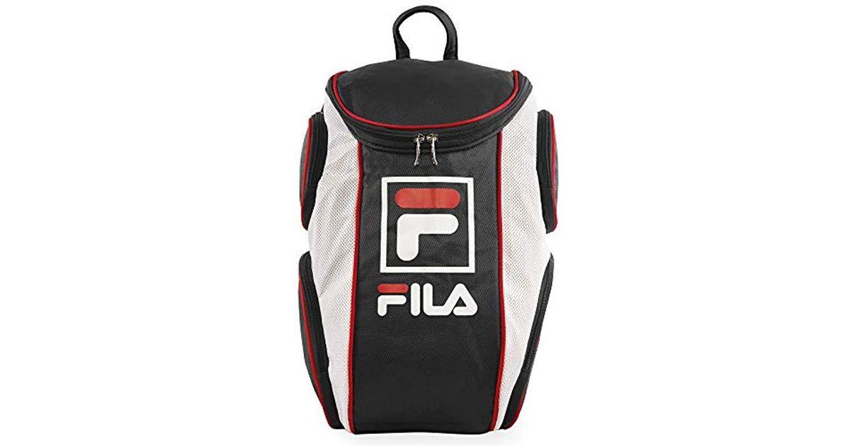 Lyst - Fila Heritage Tennis Backpack in Black for Men - Save 12%
