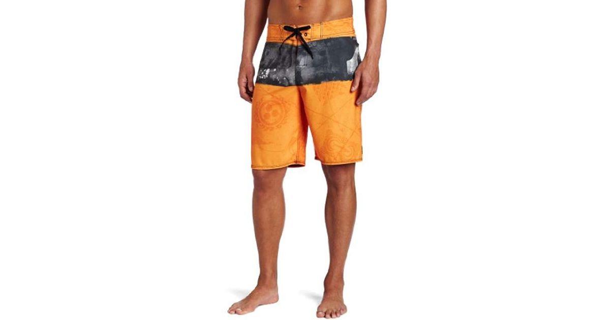 f8becb3c5b06 Lyst - Quiksilver Cypher Kelly Nomad 2 Boardshort in Orange for Men