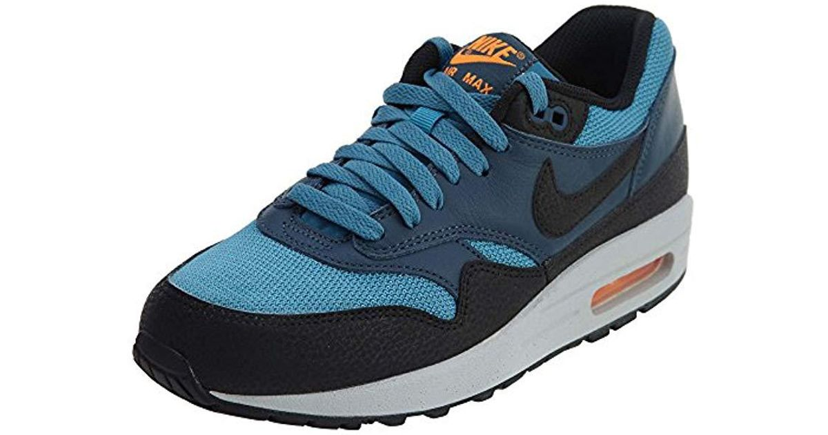 50d38569a159 ... new arrivals lyst nike air max 1 essential blue black white 537383 022  in blue for