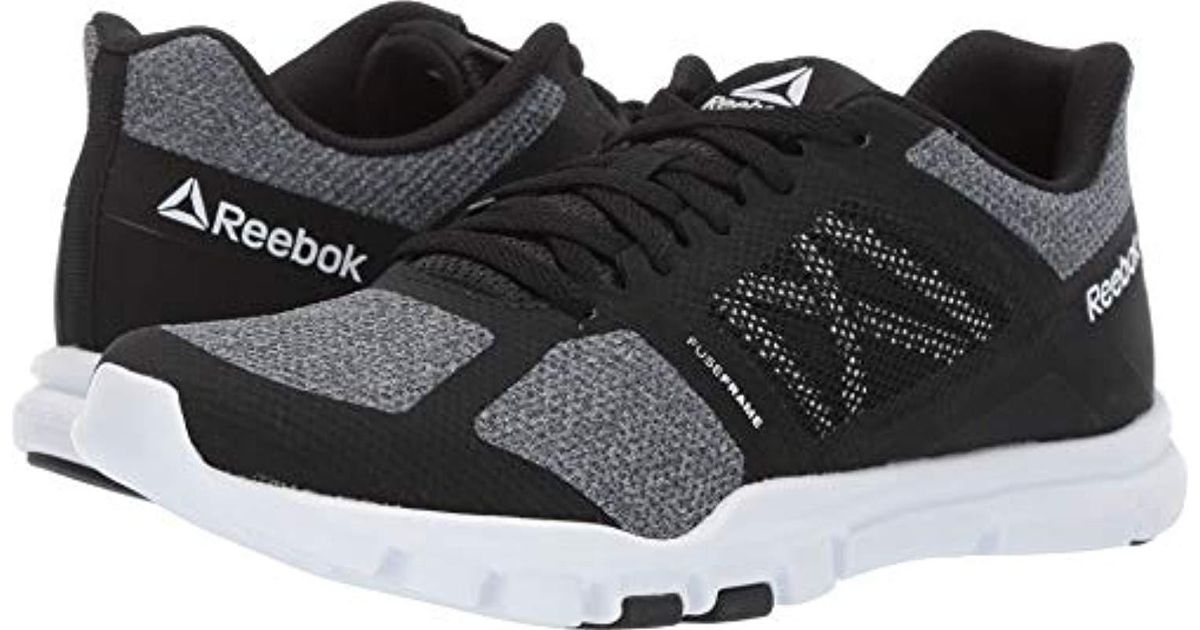 adb54002ff1150 Lyst - Reebok Yourflex Trainette 11 Mt in Black