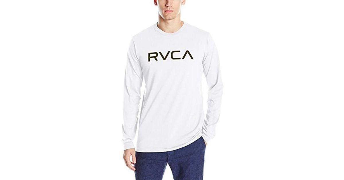 RVCA Mens FID Infinity Long Sleeve Drirelease T-Shirt