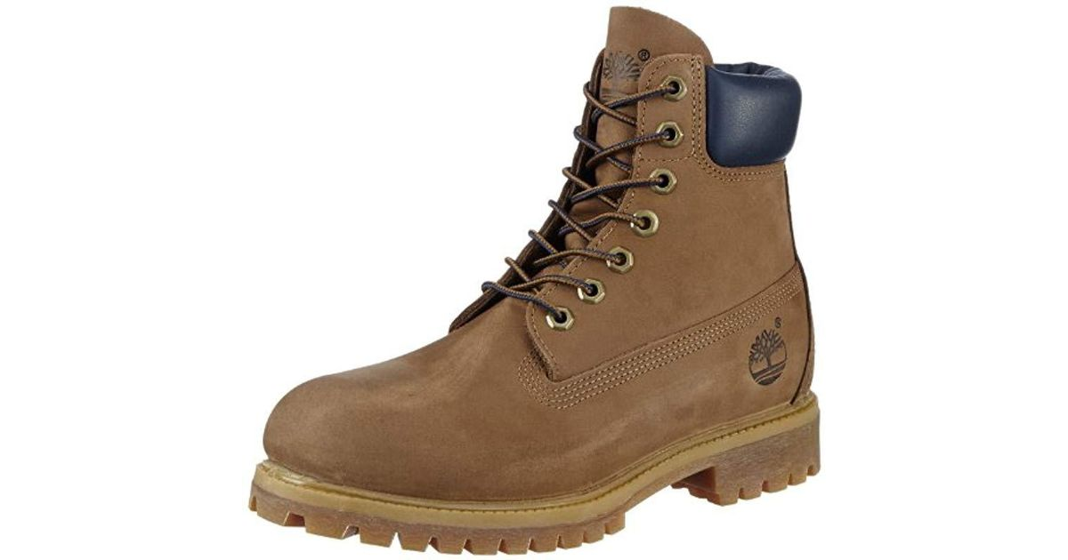 63a16754936 Timberland - Brown 6 Inch Premium Waterproof Boots for Men - Lyst