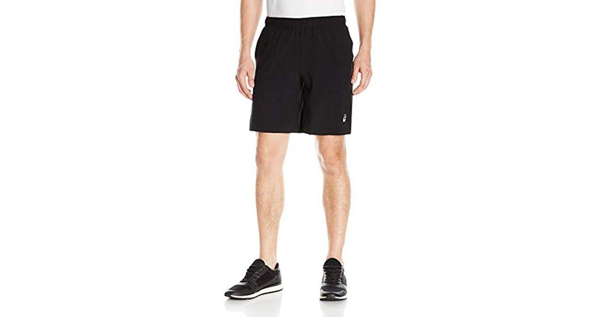 3f88f1c9eb2e Lyst - Asics Stretch Woven Short in Black for Men