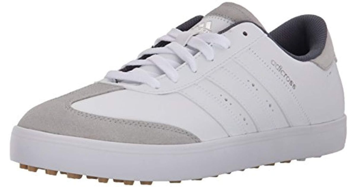 sale retailer 8c748 a971b Lyst - adidas Adicross V Golf Spikeless Shoe in White for Me