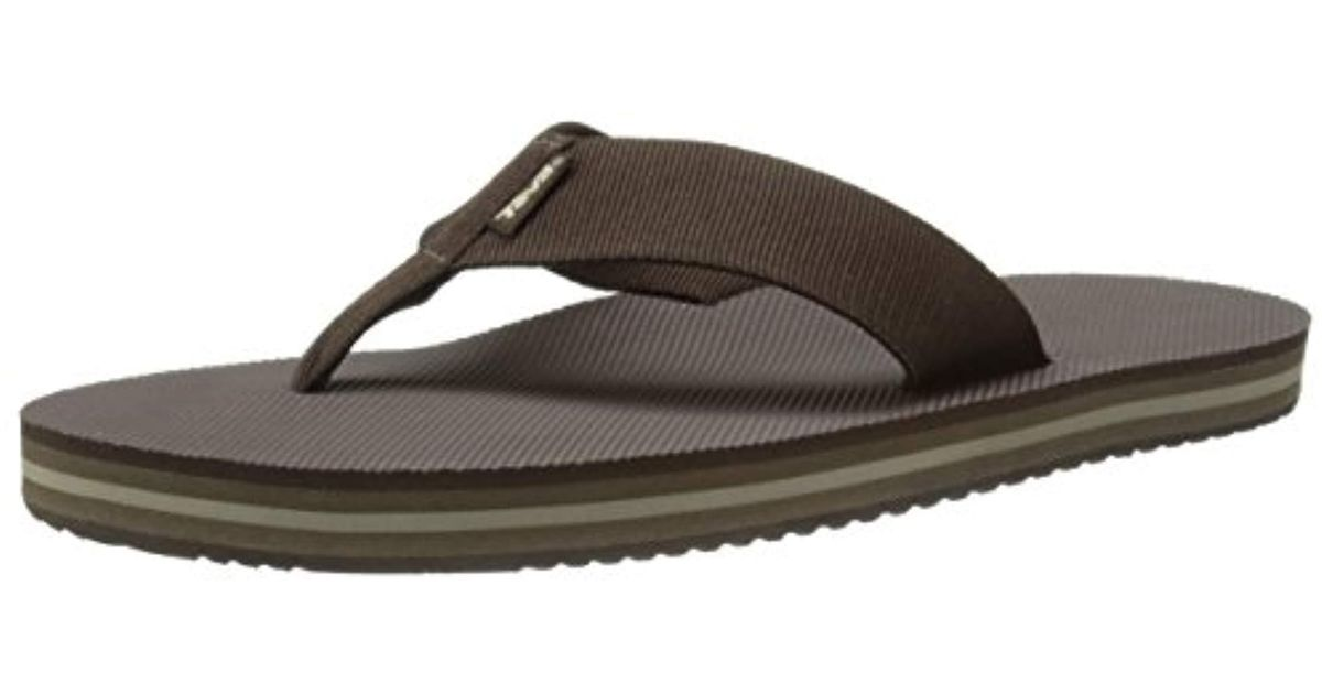 6ab17a64a Lyst - Teva Deckers Flip-flop in Brown for Men