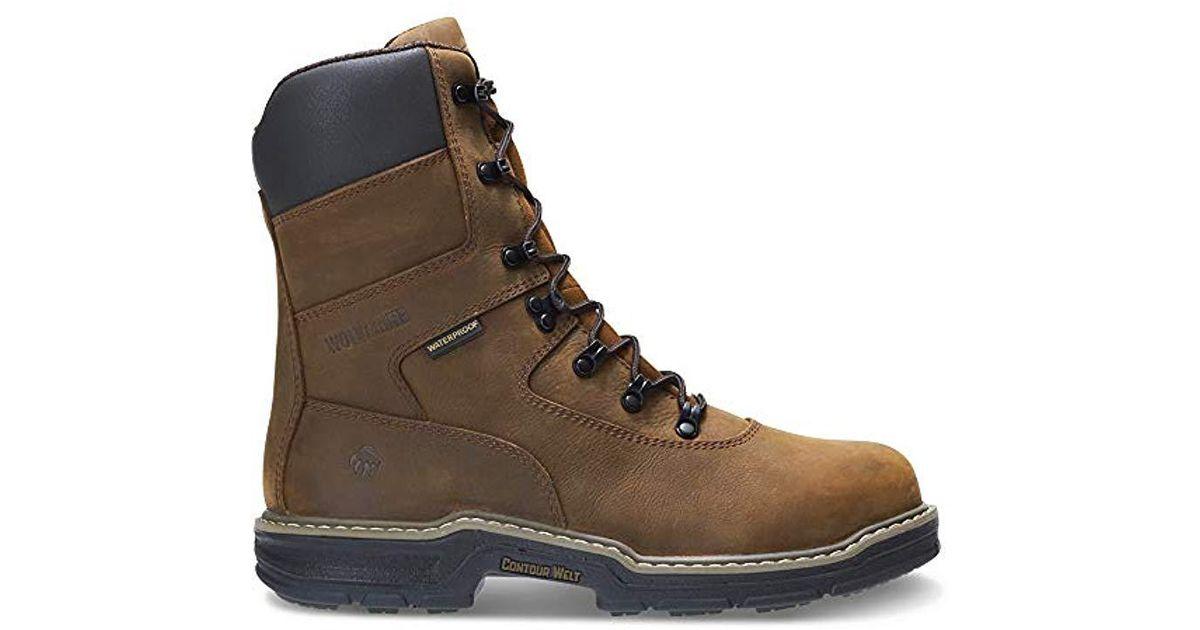 72f50e8fee6 Wolverine - Brown Marauder Insulated Steel Toe 8