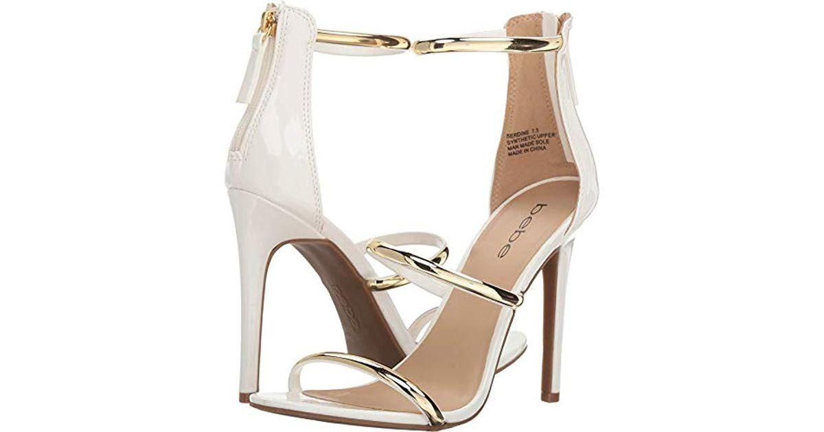 4d8b793dfda Lyst - Bebe Berdine Dress Sandal