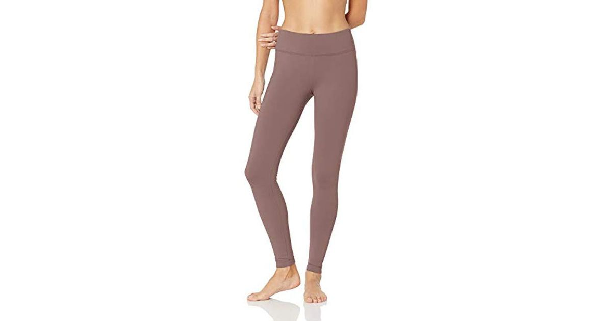 0d340d1428f09 Danskin Signature Wide Waist Yoga Ankle Legging in Purple - Lyst
