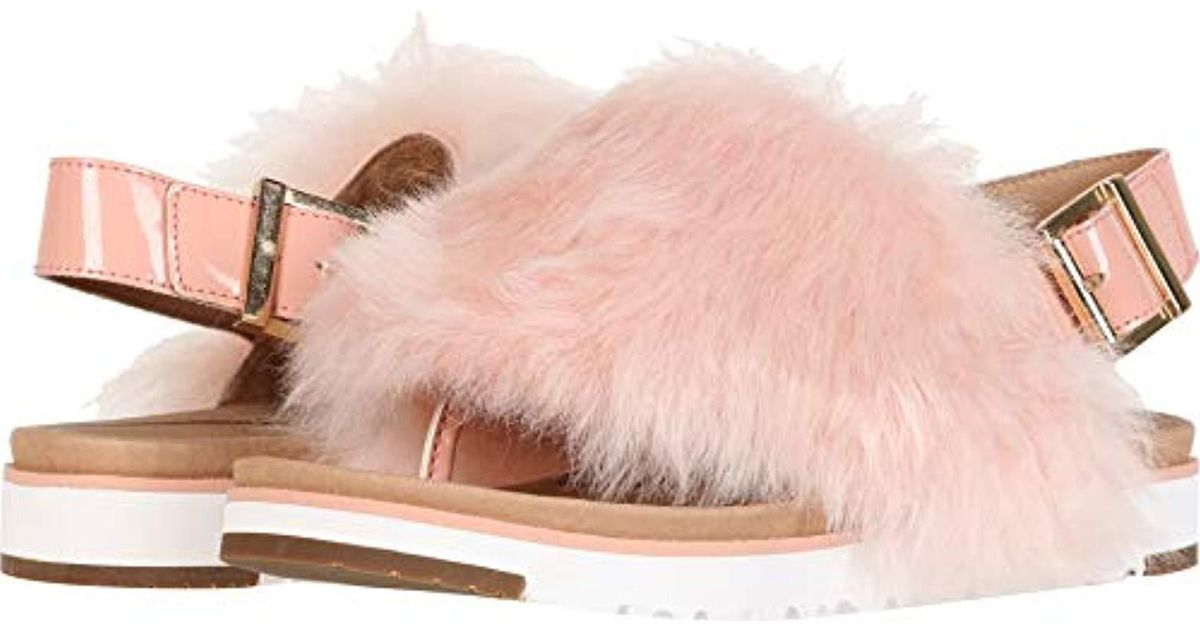 333decb42449 Lyst - UGG Holly Flat Sandal in Pink