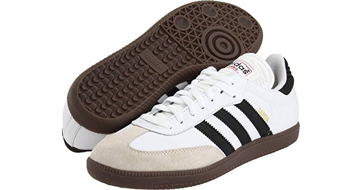 de202b3296955 ... switzerland lyst adidas performance samba classic indoor soccer shoe  for men 6accf bf639