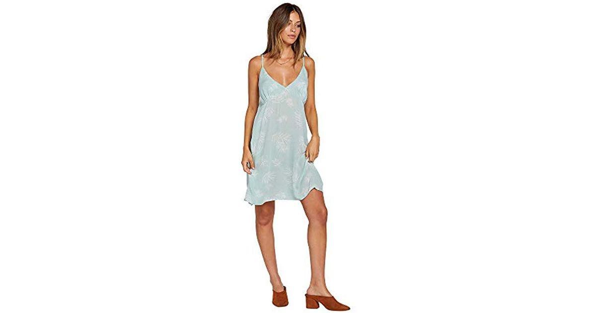dc25b724442 Lyst - Volcom Now Mini Cami Dress in Blue
