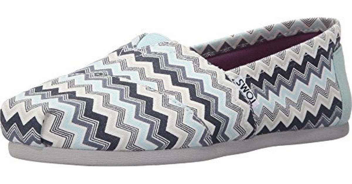 a824eef0311 Lyst - TOMS Classic Canvas Slip-on