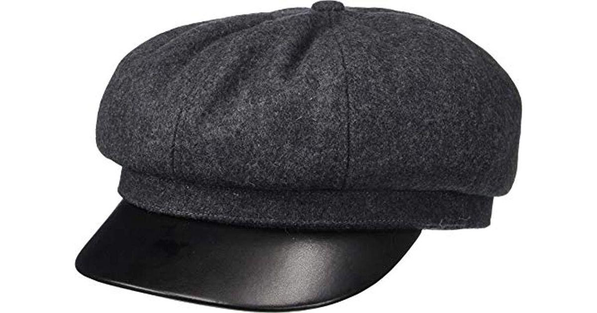 11746a0c ... ireland lyst brixton montreal cap in gray for men 73a91 de286 ...