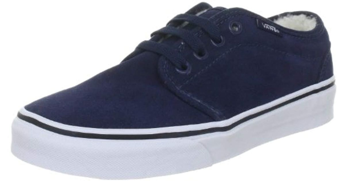 c8de4c37f5 Lyst - Vans U 106 Vulcanized Sneakers in Blue for Men