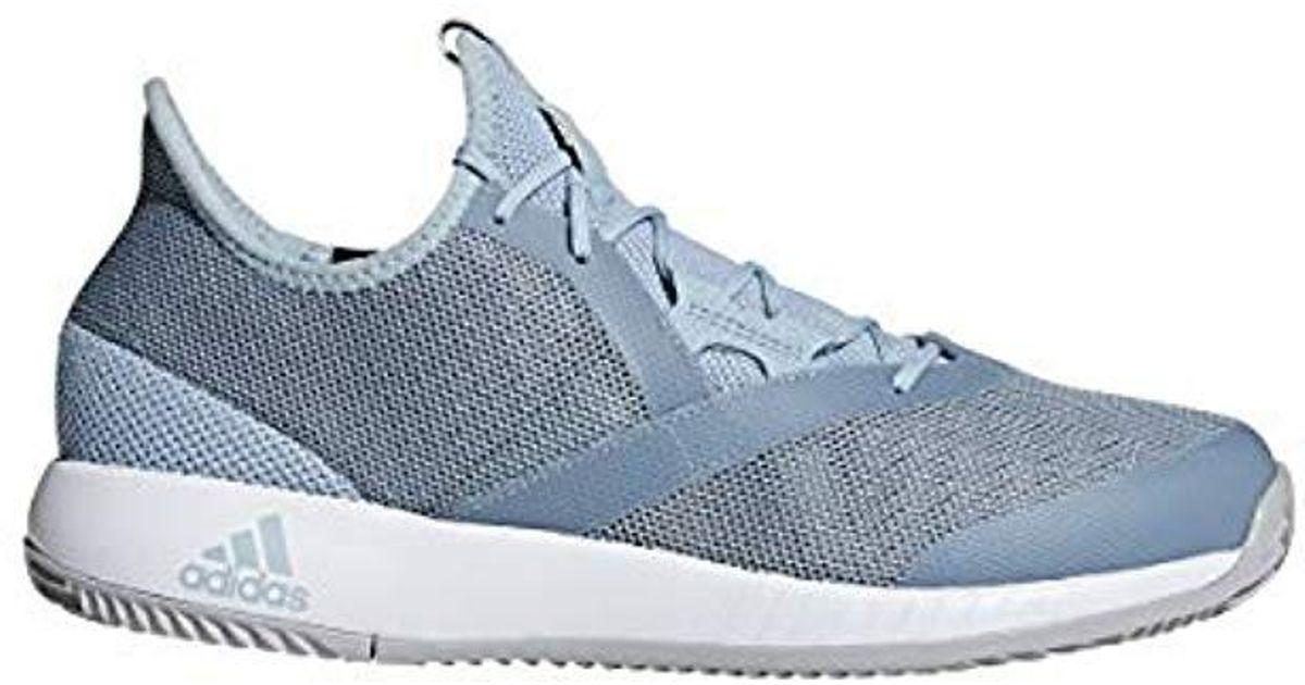 d3dc2865d2c Lyst - Adidas Adizero Defiant Bounce Tennis Shoe in Gray for Men