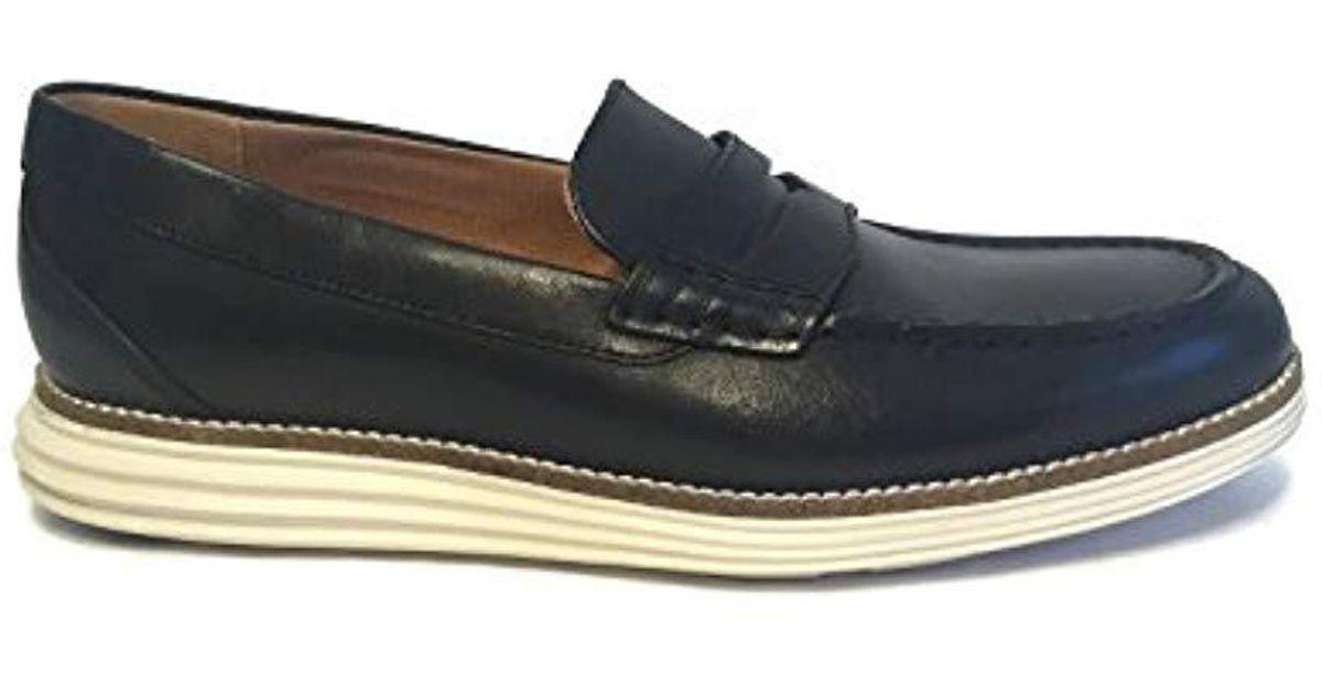 814ede849a0 Lyst - Cole Haan Original Grand Penny Loafer in Black for Men