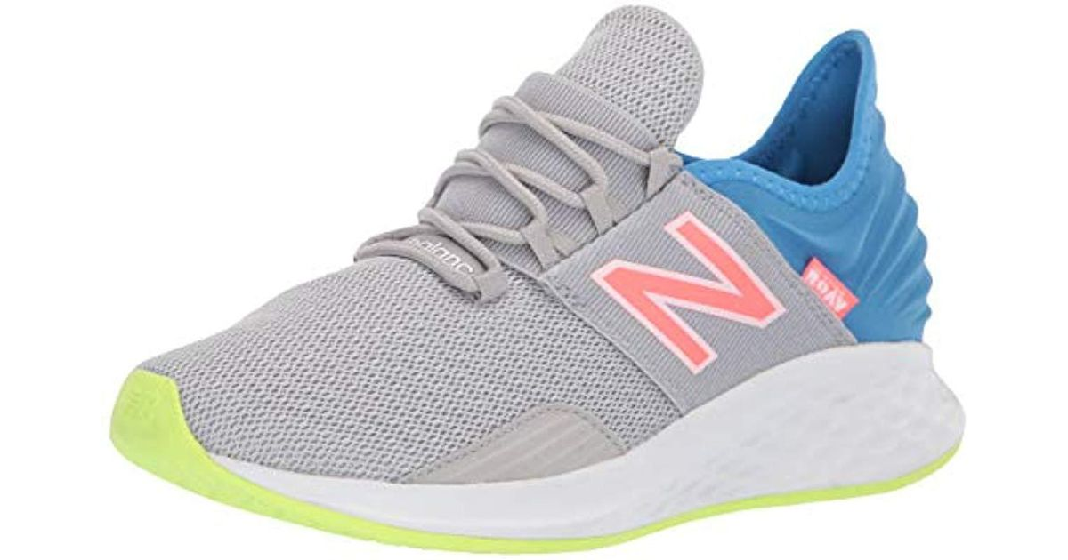 buy online 75a5e a0edc New Balance Roav V1 Fresh Foam Running Shoe, Rain Cloud light  Cobalt munsell White, 6 M Us - Lyst