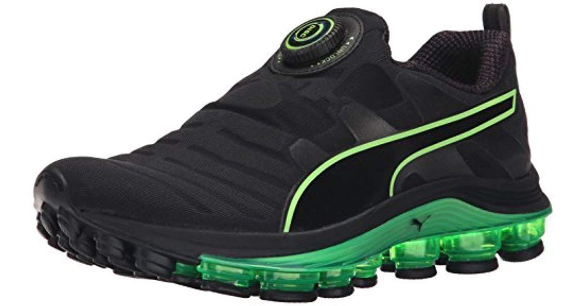 fc8528b5d515 Lyst - PUMA Voltage Disc Running Shoe in Black for Men - Save 6%