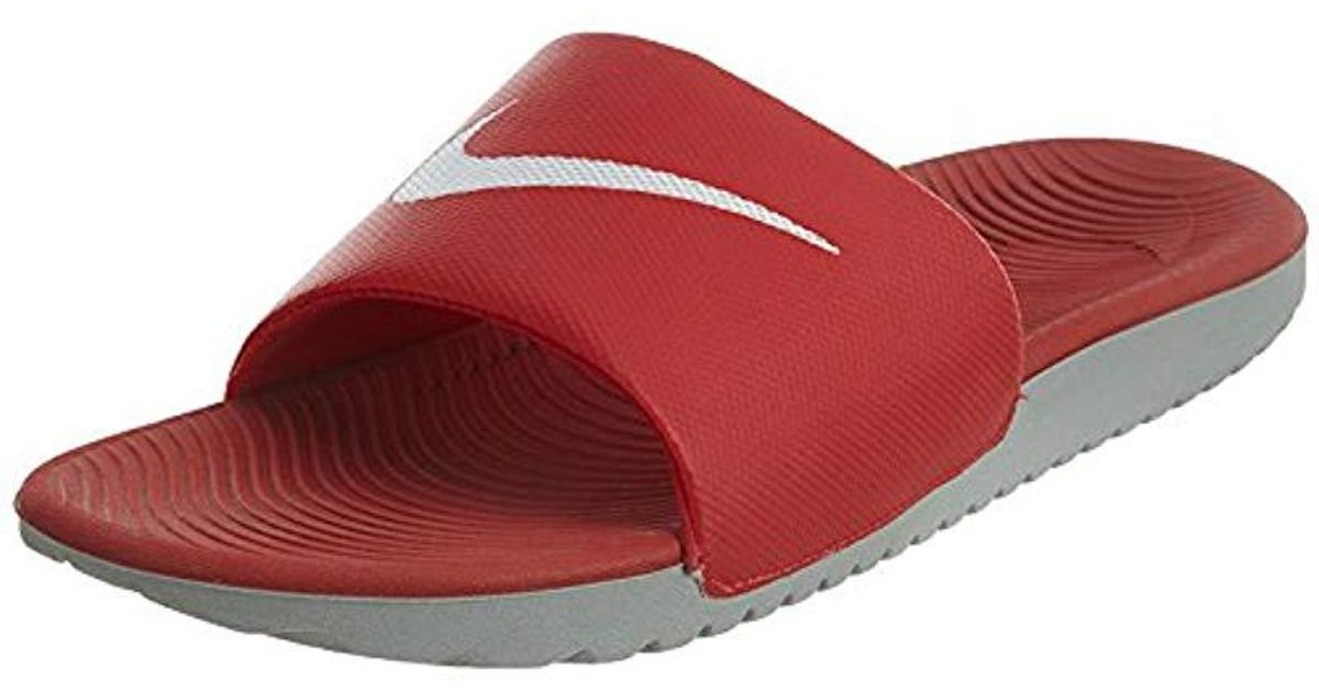 For Lyst Low Nike Slide Red Kawa Sneakers Top Men BWdQxrCoeE