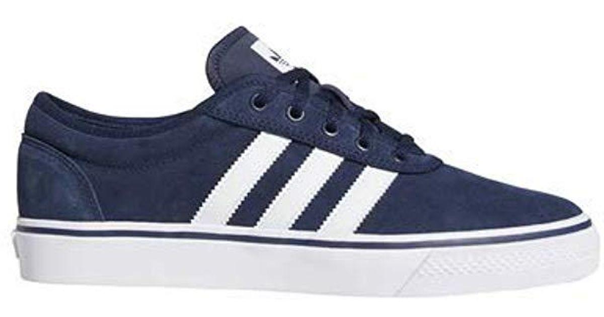 more photos ef134 c9910 Lyst - adidas Originals Adi-ease, Collegiate Navywhitegum, 8.5 M Us in  Blue for Men