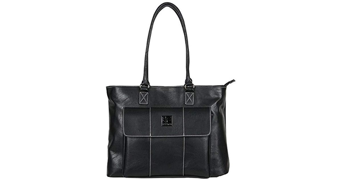 9fce4735f4 Lyst - Kenneth Cole Reaction Casual Fling Ladies Tote Laptop Tote in Black