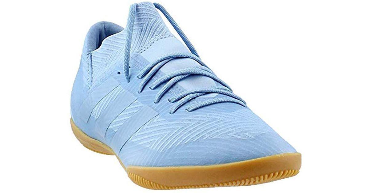 best loved 3742d 6e239 Lyst - adidas Originals Nemeziz Messi Tango 18.3 Indoor Soccer Shoe in Blue  for Men