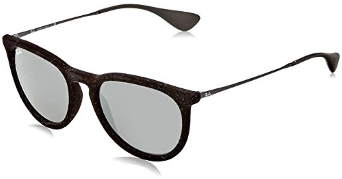84395c90e0 Lyst - Ray-Ban Erika Classic Sunglass in Black