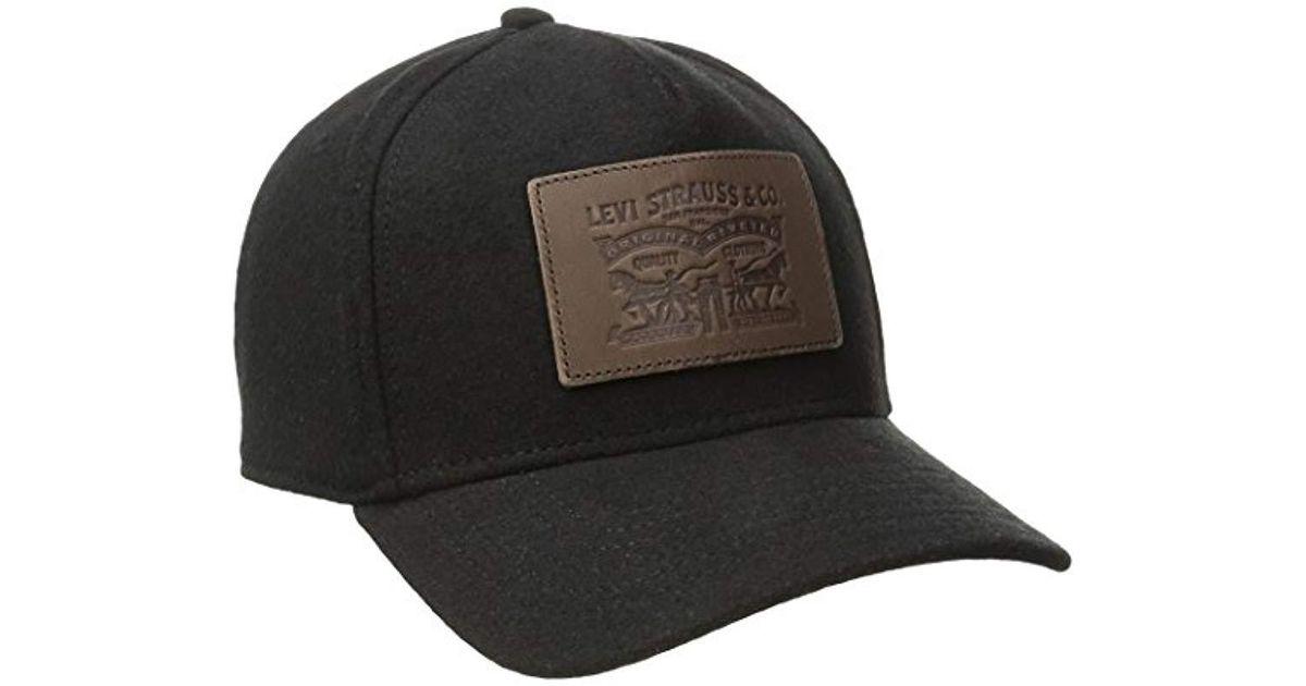 30f50669 Lyst - Levi's Classic Baseball Hat Logo in Black for Men