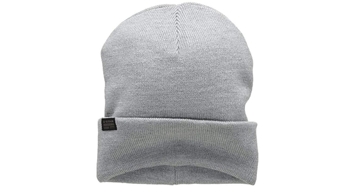 dc0653d2b51 G-Star Raw Effo Sp Skullies And Beanies in Gray for Men - Lyst