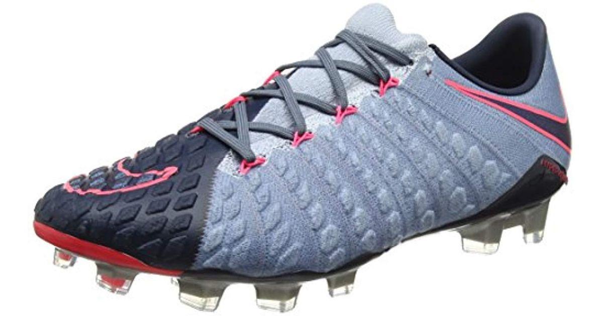 110df1831 Nike   s Hypervenom Phantom Iii Fg Football Boots in Blue for Men - Lyst
