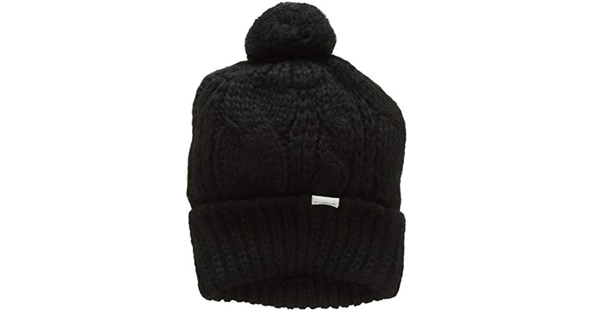 751ce31c Levi's Lofty Cable Beanie in Black - Lyst