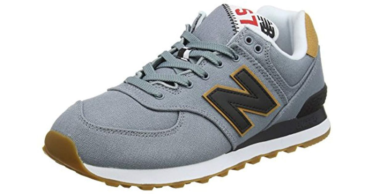 8fc9c155ffbbe New Balance Ml574yld Trainers in Blue for Men - Lyst