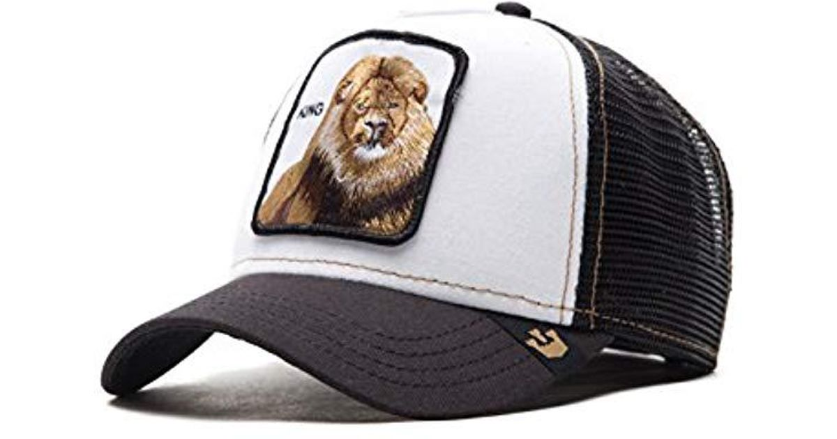 ca437257301c8 Goorin Bros King Trucker Cap in Black for Men - Save 19% - Lyst