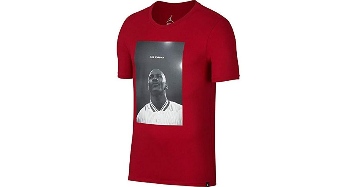 Air Jsw Red In Shirt Photo Tee T Jordan Men Nike Lyst For M qSnTO6ZZ